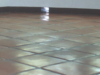 Tiling discolored and faded