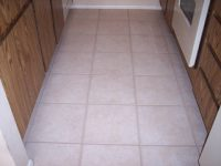 Grout looks spotless after expert services completed by Desert Tile & Grout Care