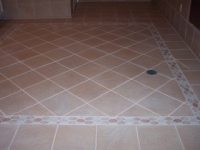custom-laid ceramic tile floor in luxury AZ home looks brand new after expert tile cleaning