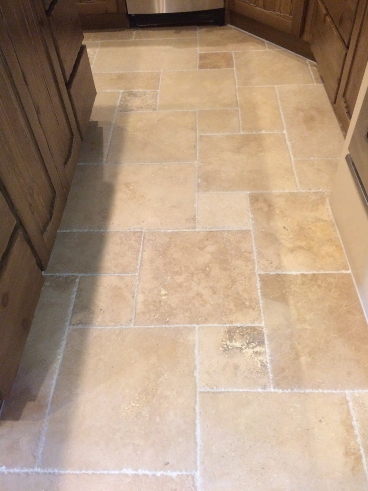 Travertine - After Tile Floor Cleaning Services By Dan Milne