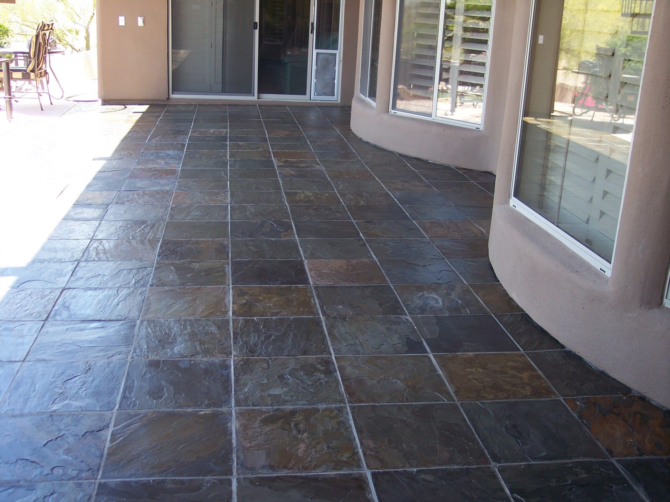 Slate & Stone Tile Cleaning