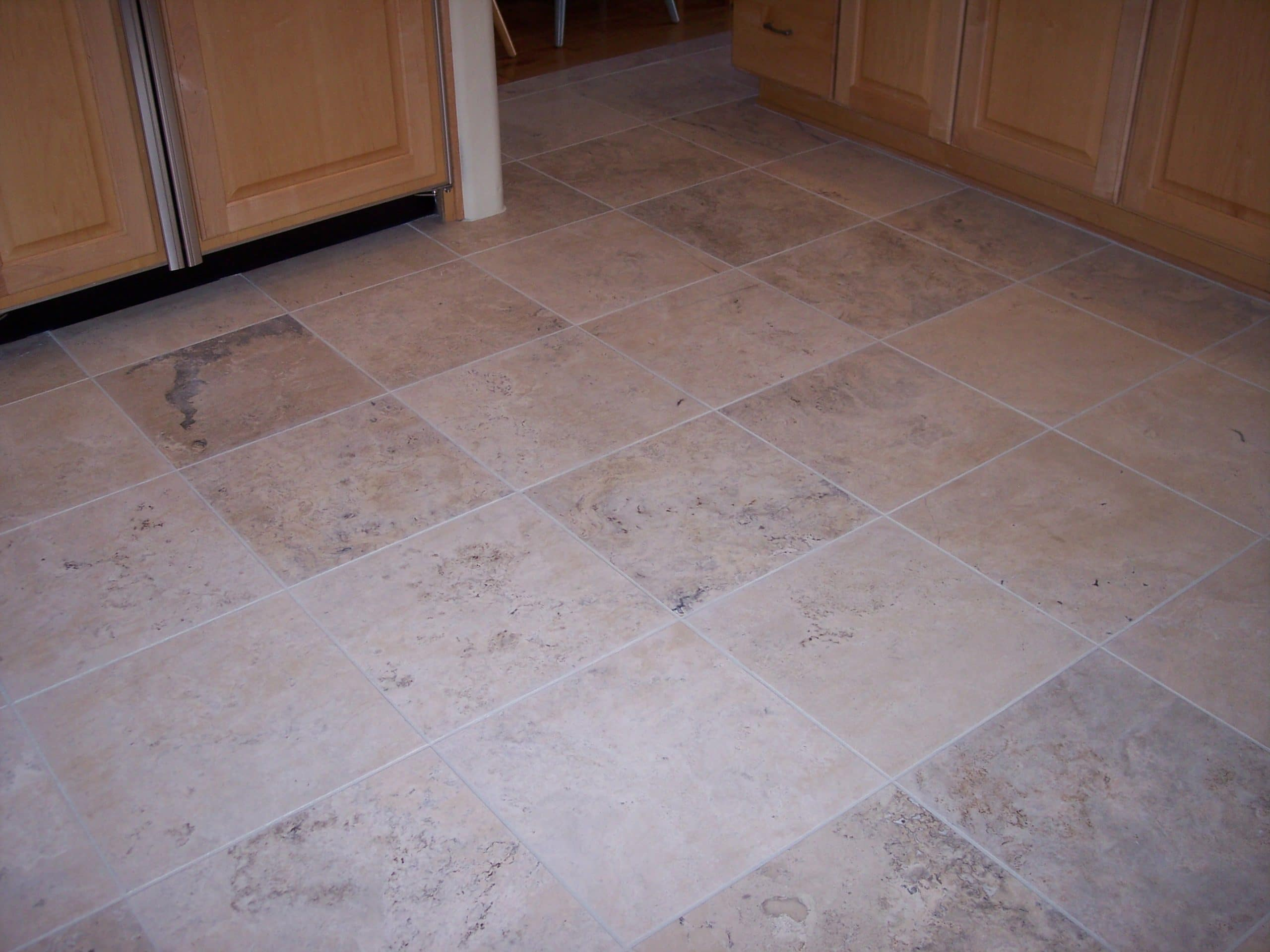 how to clean stone tile floors
